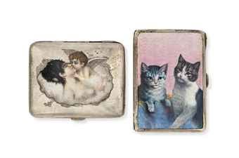 Kuppenheim made many pieces depicting Animals - specially CATS