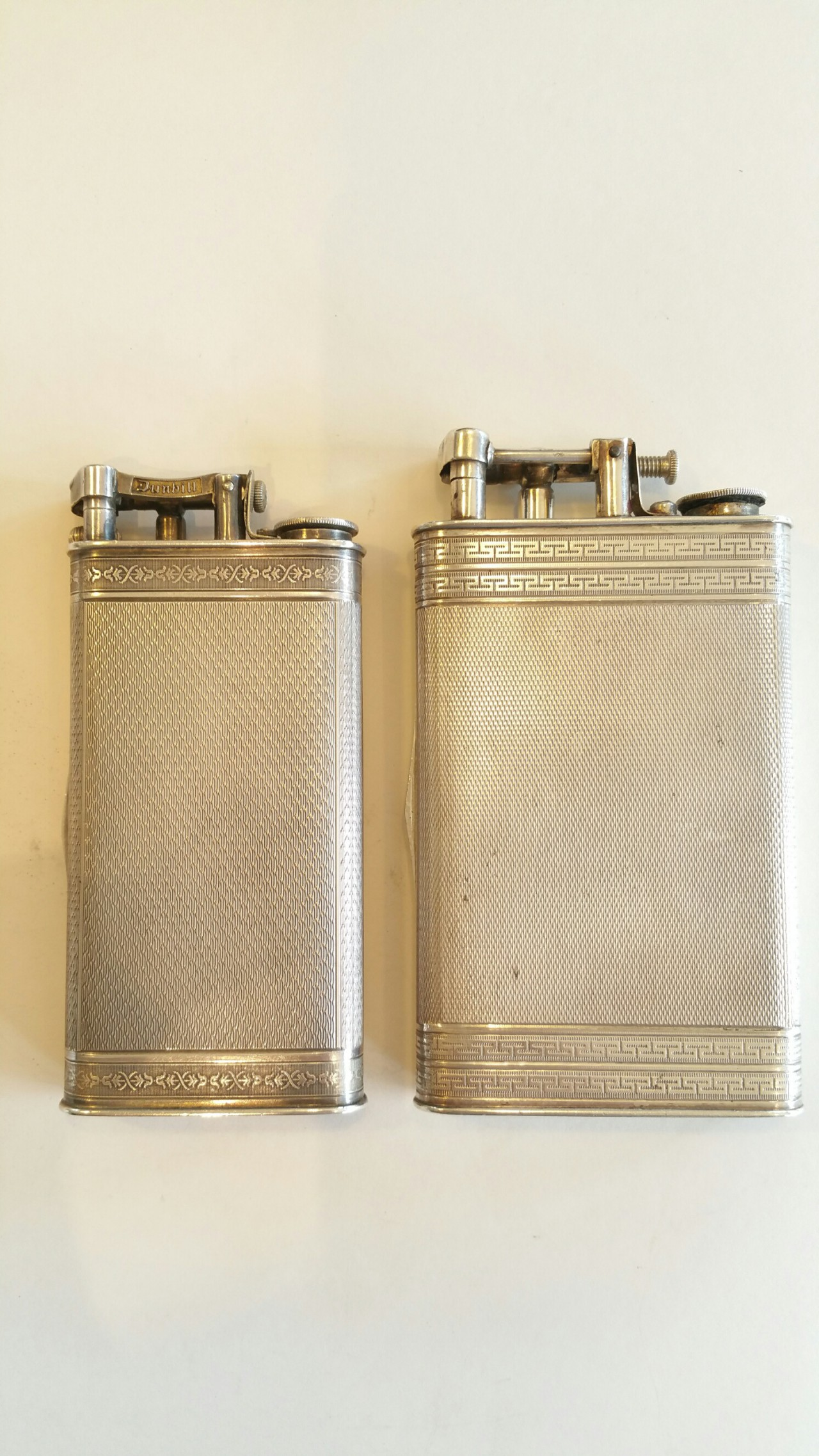 2 louis kuppenheim cases cigarette and lighter