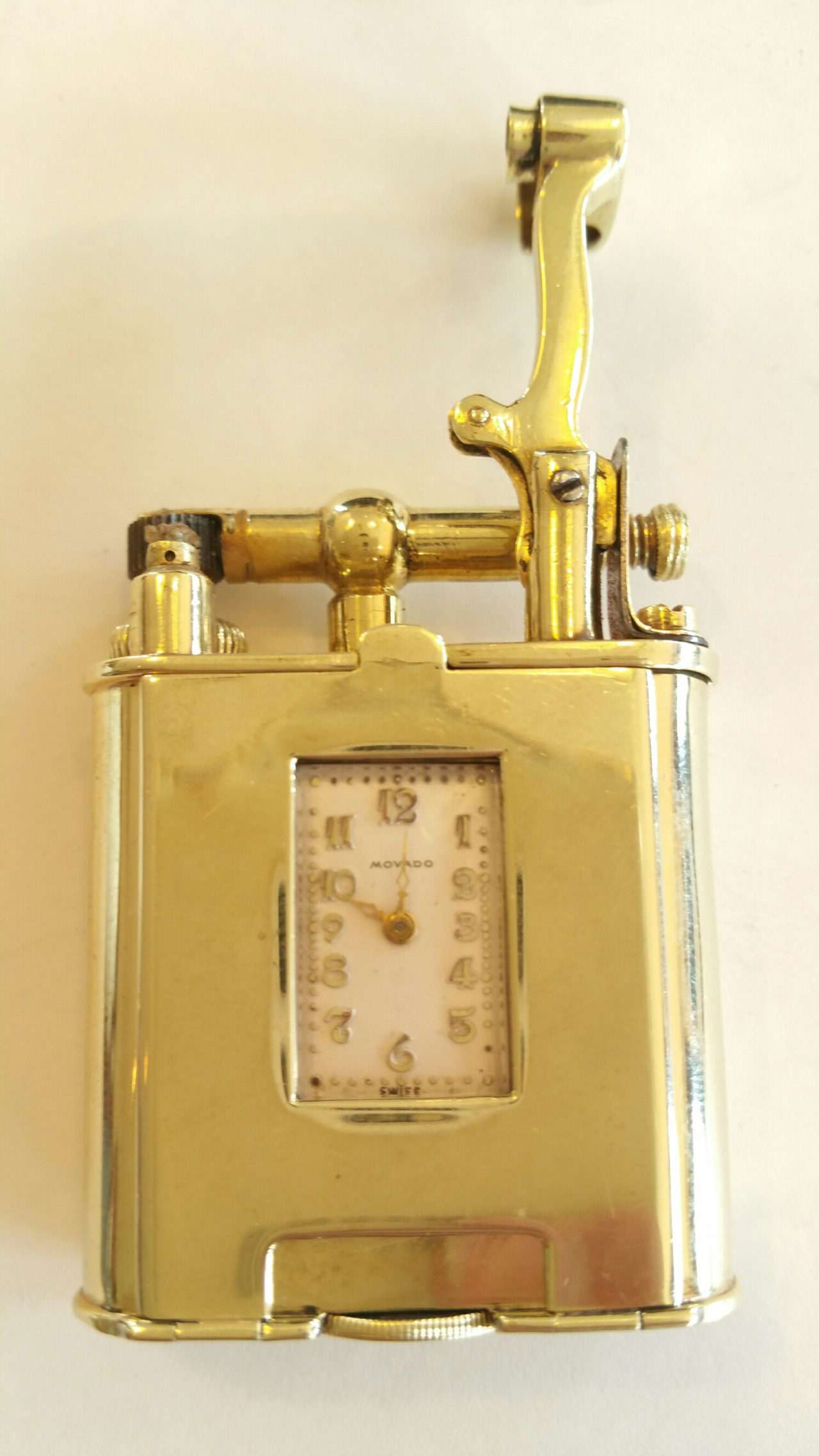 movado watch lighter dunhill gold