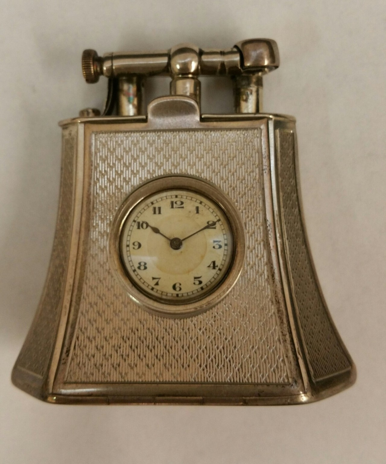 with watch table fancy dunhill lighter