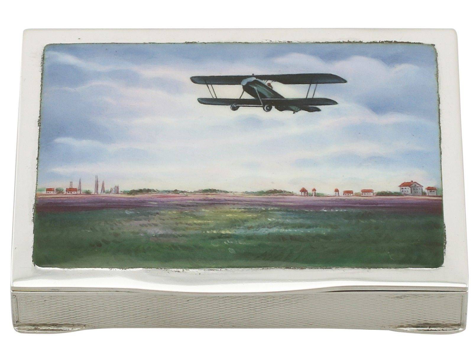 Airplane - Picture ASC Silver London. On Ebay, no: 312214445859